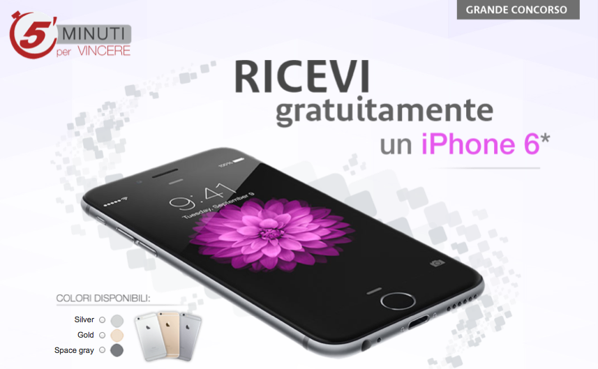 concorso iphone 6 plus euronova