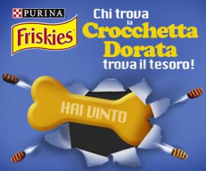 Concorso a Premi Friskies Crocchetta Dorata