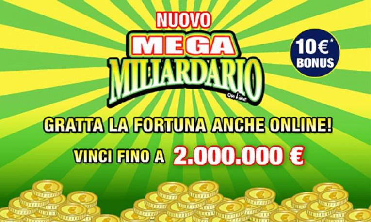 Gioca Online ai Gratta e Vinci per te un Bonus di 50€ Gratis con la nostra offerta di benvenuto!