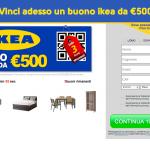 vinci buono ikea da 500€