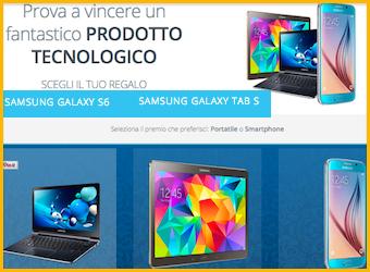 Vinci samsung concorso online