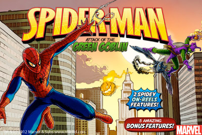 Slot Machine Spiderman L'Attacco di Green Goblin Marvel
