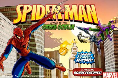 Slot Machine Spiderman L'Attacco di Green Goblin Marvel