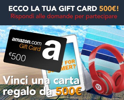 Concorso Vinci Coupon Amazon