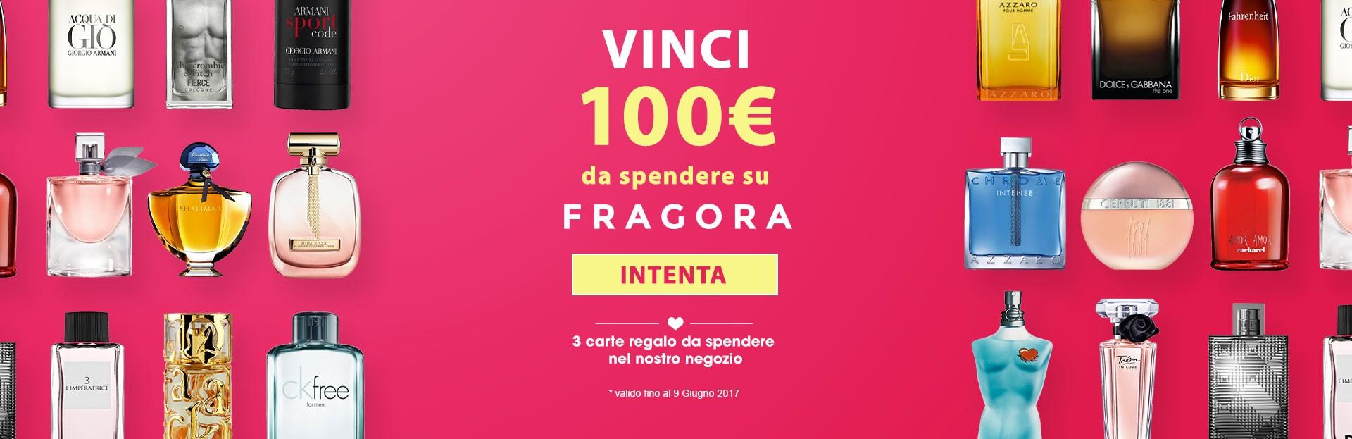 Concorso Fragora Profumeria Online Vinci 100€ Di Buoni Spesa