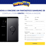 happy win concorso a premi vinci s9