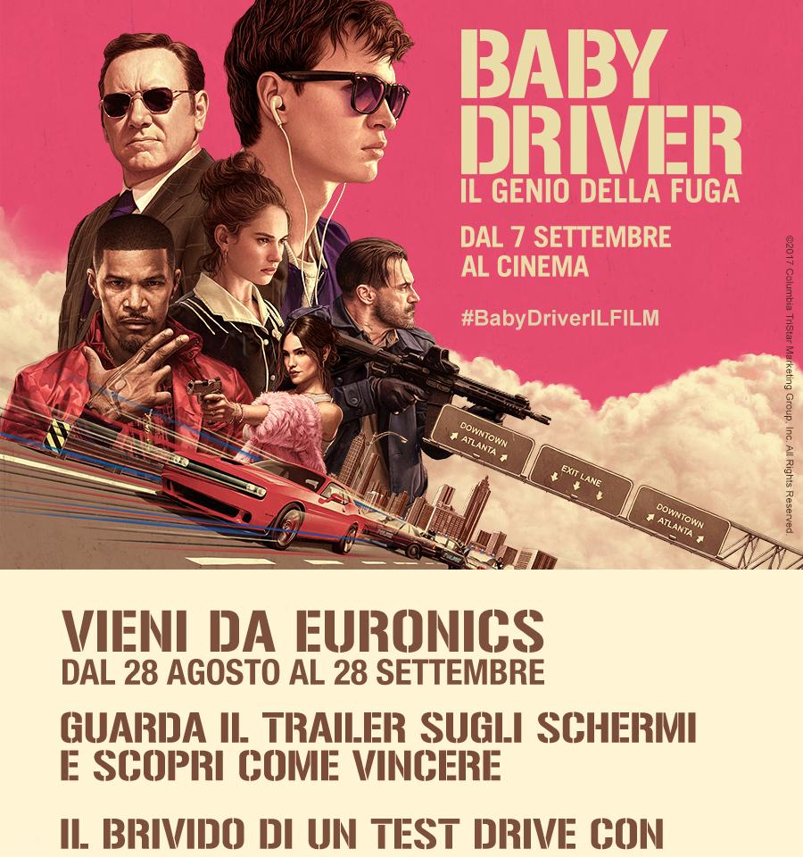 Concorso a Premi Euronics Baby Driver