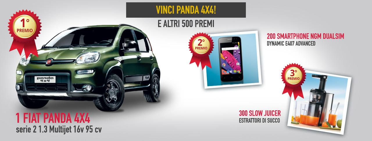 Concorso a Premi Giordano Vini – Vinci Panda 4×4