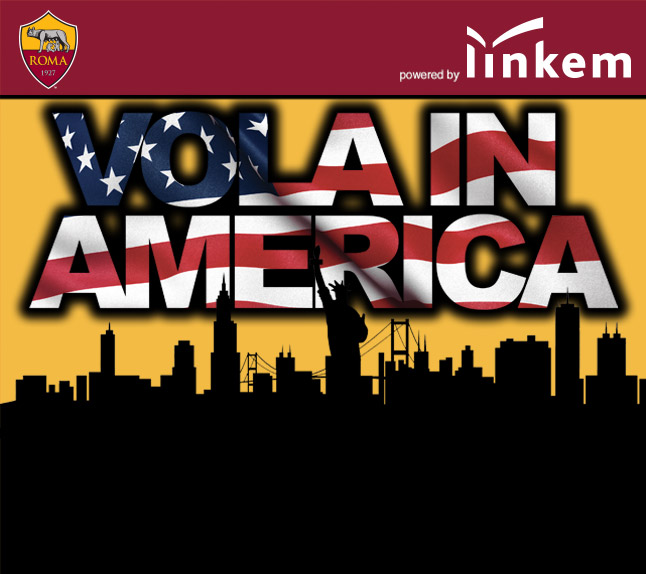 Concorso a Premi Vinci AS Roma US Tour