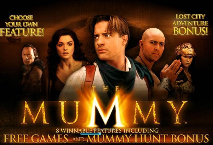 slot machine la mummia