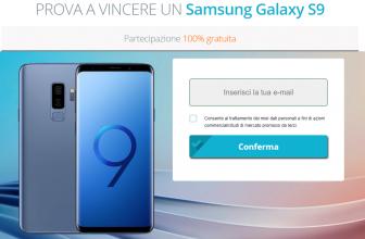 Nuovo Concorso a Premi Vinci Samsung Galaxy S9