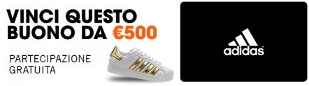 Vinci un Buono Adidas da 500€