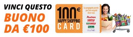 Vinci Buono Spesa Auchan da 500€