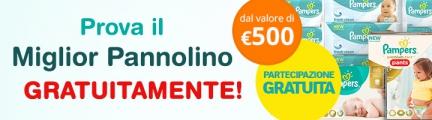 Concorso Pampers Vinci Buono da 500€