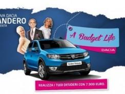 Concorso Dacia Budget Life