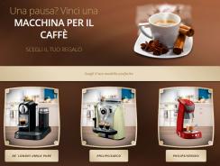Concorso a Premi Vinci la Tua Macchina da Caffè Preferita