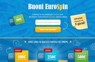 Vinci Spesa da Eurospin 500€ Gratis con il Concorso a Premi Online