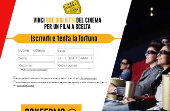 Nuovo Concorso a Premi Vinci Biglietti Uci Cinema