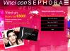 Vinci con Sephora Buono 500€ Gratis Online