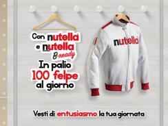 Concorso a Premi Nutella – Vinci 100 Felpe Ogni Giorno