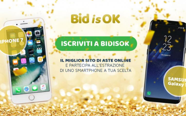 Concorso a Premi Iscriviti e Vinci iPhone 7 o Samsung S8