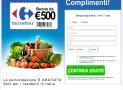 Iscriviti e Vinci un Buono Sconto 500€ Carrefour