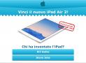 Concorso a Premi Vinci iPad Air