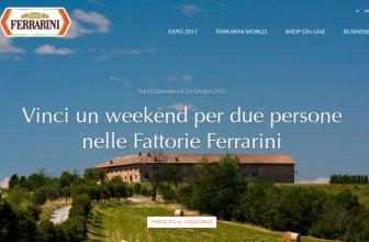 Concorso a Premi Scopri il Mondo Ferrarini