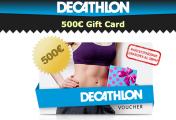 Concorso a Premi Vinci Buono Dechatlon da 500€