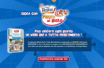 Concorso a Premi Pizza Regina Puzzle di Gusto