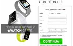 Concorso a Premi Vinci Nuovo Apple Watch