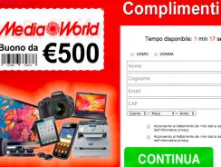 Concorso a Premio Vinci un Buono Spesa Media World da 500€
