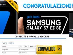 Vinci un Samsung Galaxy S8