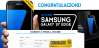 Vinci un Samsung Galaxy S7