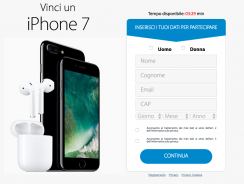 Concorso Vinci un iPhone 7