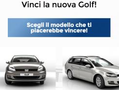 Concorso a Premi Vinci Automobile Golf Volkswagen