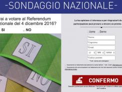 Rispondi al Sondaggio sul Referendum e Vinci 900€ in Premi.