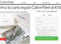 Vinci Un Coupon Kalvin Klein da 750€