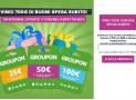 Vinci 700€ in  Buoni Spesa Groupon Con Jamba