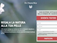 Concorso Diventa Tester Dr. Hauschka Regala la Natura alla tua Pelle