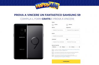 Vinci il Nuovo Samsung Galaxy S9