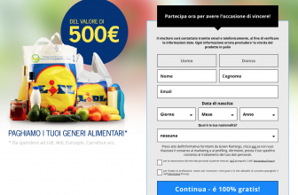 Concorso Vinci 500€ di Spesa da Lidl