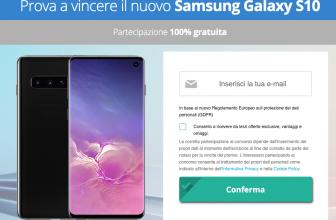 Vinci un Samsung Galaxy S10