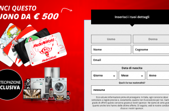 Concorso Vinci un Buono Media World da 500€
