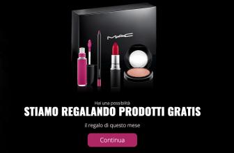 Vinci Gratis i Prodotti Mac per il Make Up