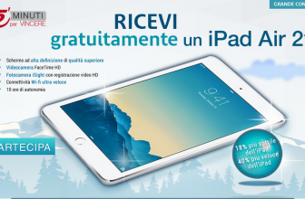 Concorso Vinci un iPad Air
