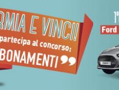 Abbonamenti.it Concorso di Primavera Vinci Ford Fiesta o Viaggio