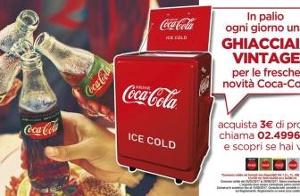 Concorso a Premi Coca Cola Vinci una Ghiacciaia