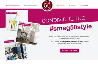 Concorso a Premi Condividi il Tuo Smeg50Style