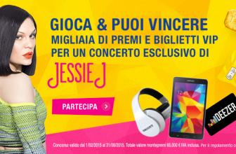 Concorso a Premi Vinci Jessie J con Tuc